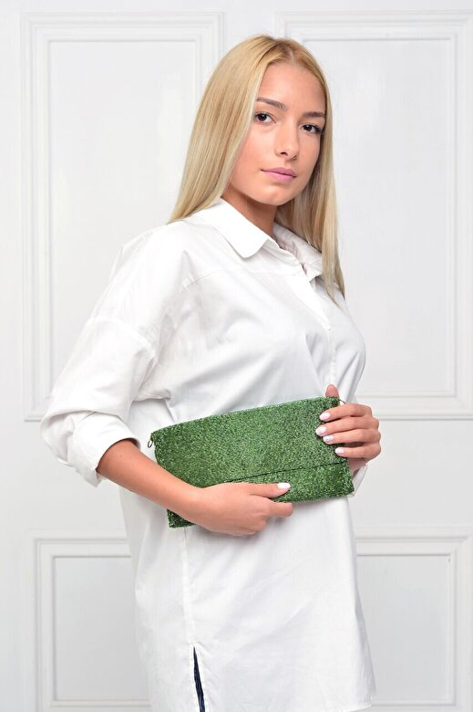 BORRO Design - Geanta plic Charming Femme - Vernil