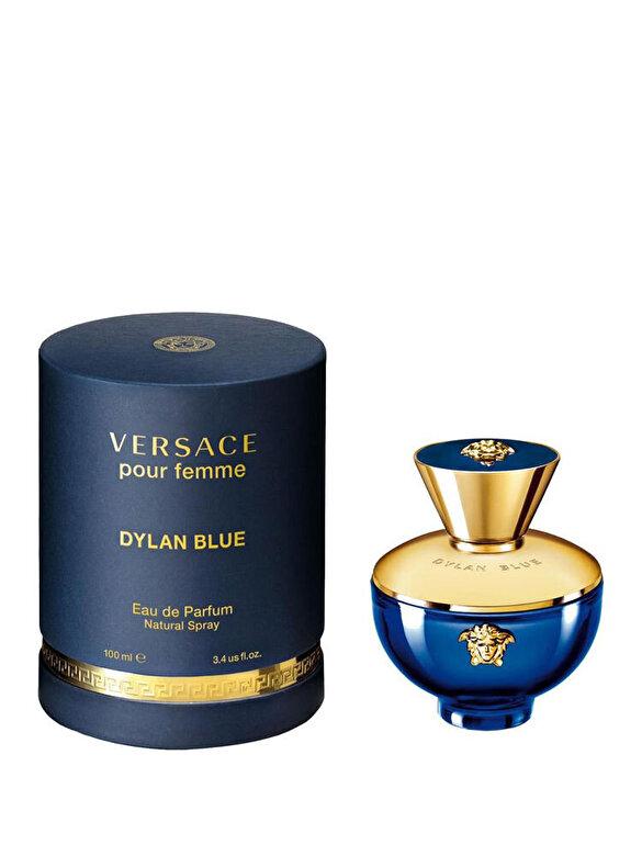 Versace - Apa de parfum Dylan Blue pour femme, 100 ml, Pentru Femei - Incolor