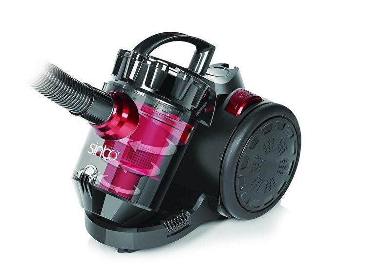 Sinbo - Aspirator Sinbo SVC-3479, Putere 1000W, Sistem Multi Cyclon,Vas de 1,5L , Dimensiune cablu 5m - Negru