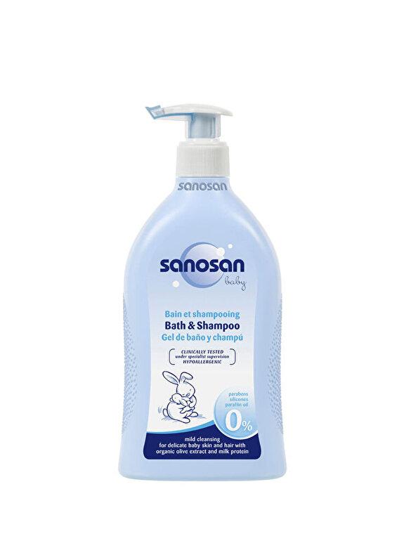 Sanosan - Sampon pentru copii Bath & Shampoo - Multicolor