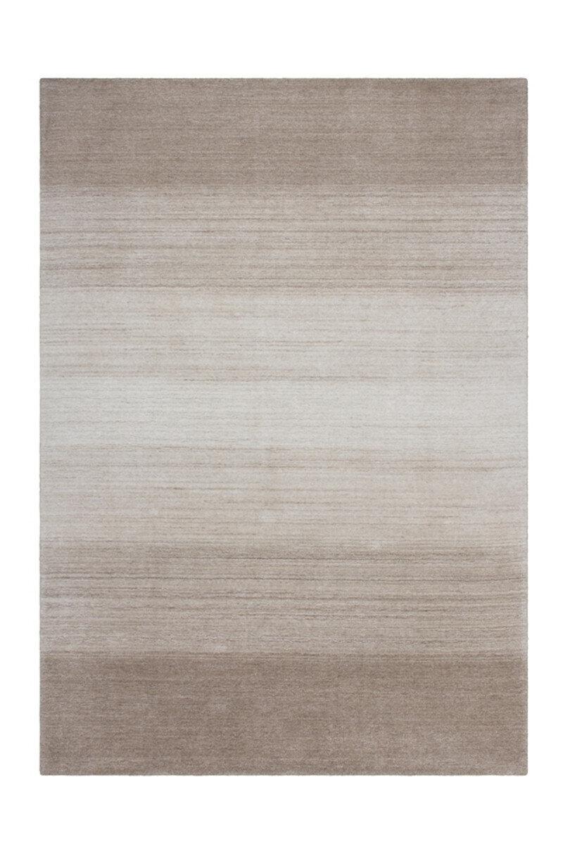 Covor Decorino Waling, modern & geometric, lana, C04-014208, 80 x 150 cm, Taupe