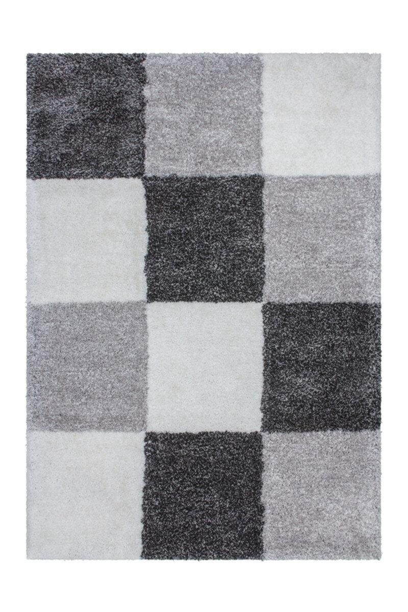 Covor Decorino Genova, modern & geometric,shaggy, poliester, C15-014107, 200 x 290 cm, Gri