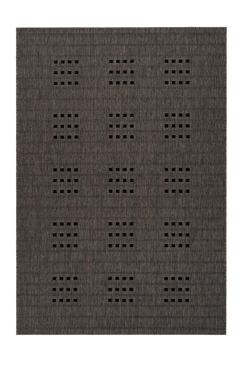 Covor Decorino Bondy, modern & geometric, polipropilena, C04-014818, 80 x 150 cm, Gri