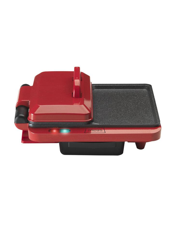 Grill electric, TREBS, Comfort Cook, 99362, Rosu