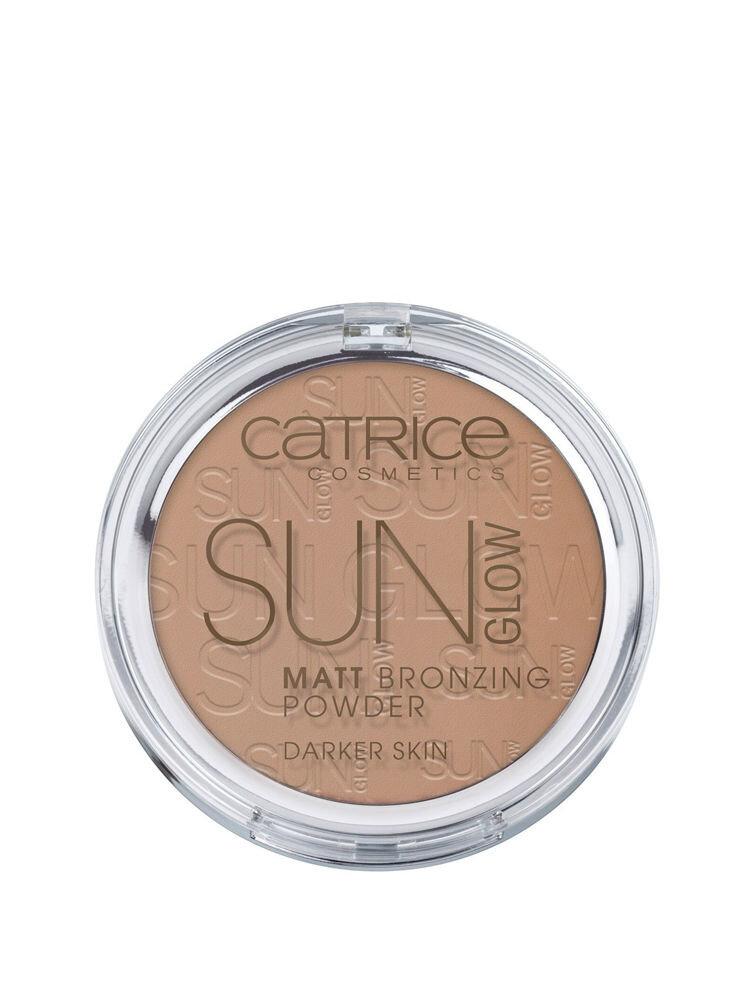 Pudra bronzanta mata Sun Glow, 020 Deep Bronze, 9.5 g