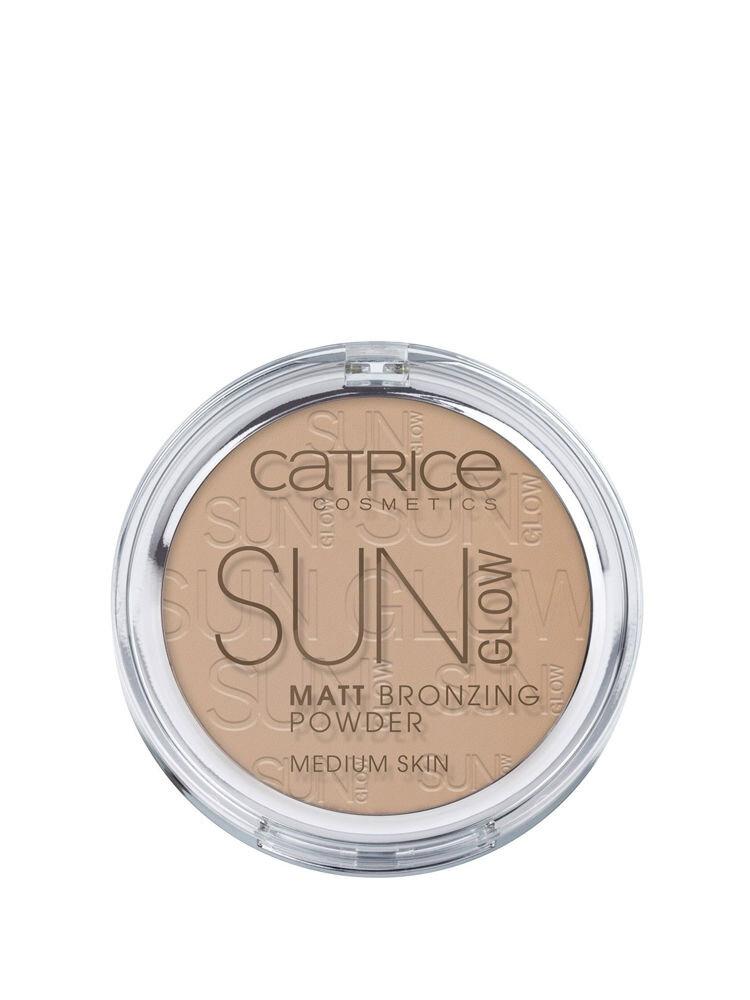 Pudra bronzanta mata Sun Glow, 030 Medium Bronze, 9.5 g