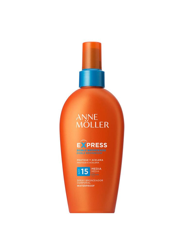 Lotiune de corp cu protectie solara spray SPF 15 Anne Moller, 200 ml