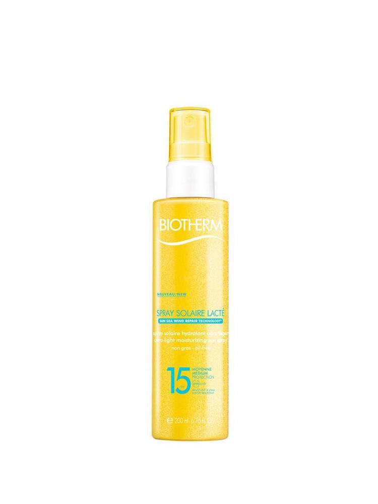 Spray de corp Biotherm Sun Spray Lacte SPF15, 200 ml