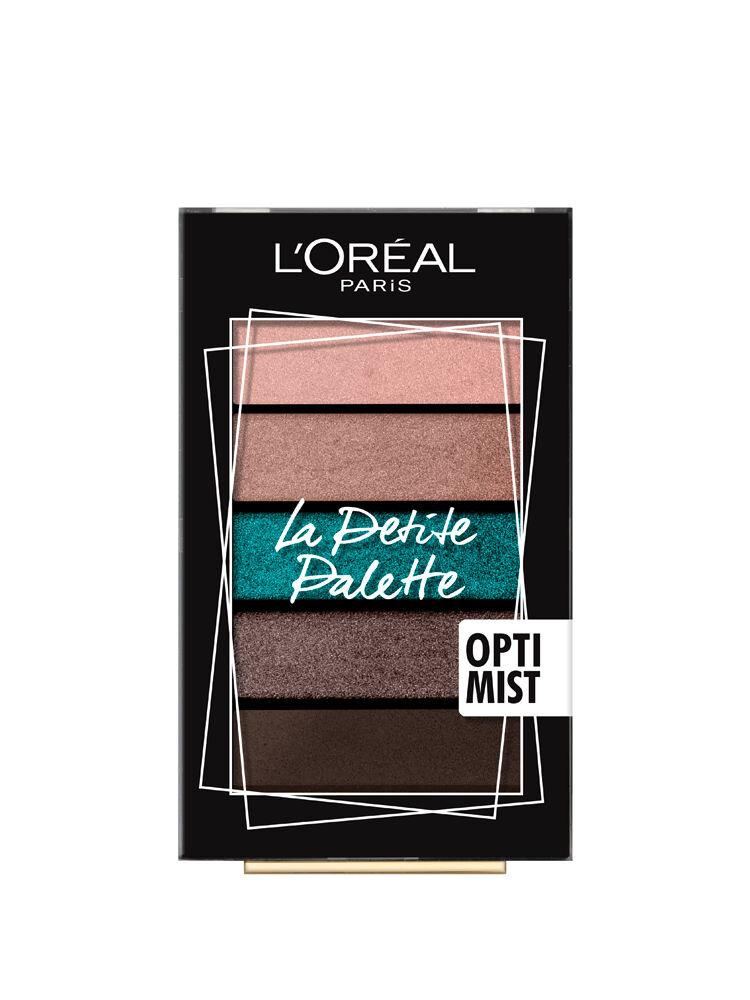 Paleta farduri pleoape L Oreal Paris La Petite Palette Optimist, 4 g