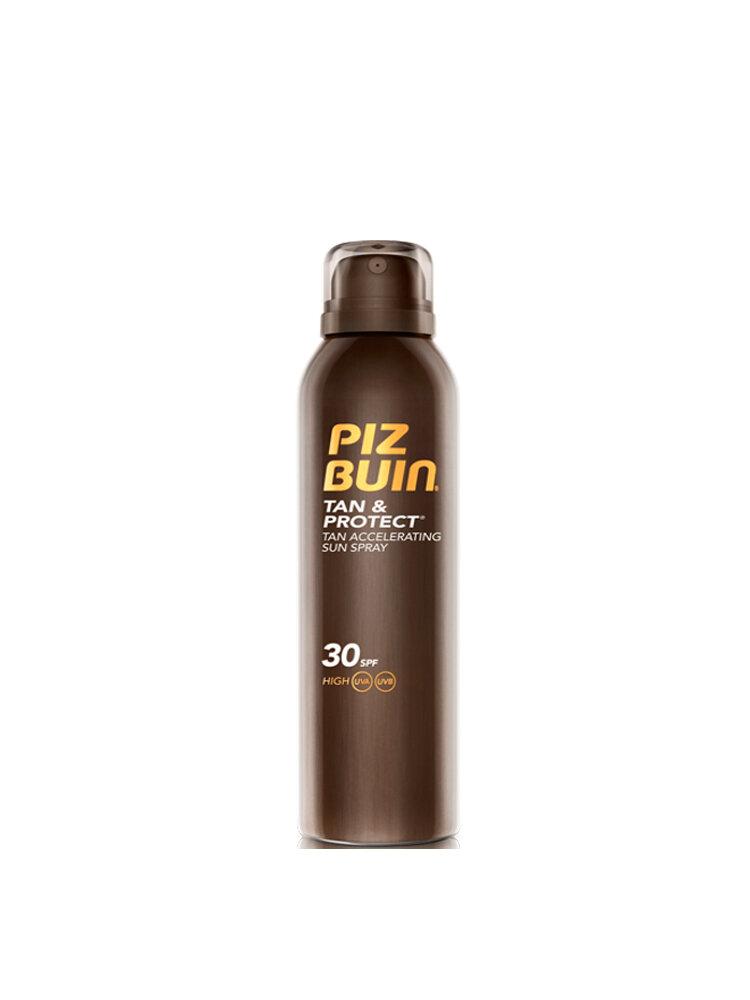 Lotiune spray bronzare accelerata si protectie a bronzului SPF 30, 150 ml