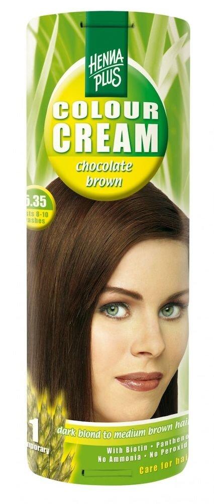 Crema nuantatoare Colour Cream, 5.35 Chocolate Brown, 60 ml