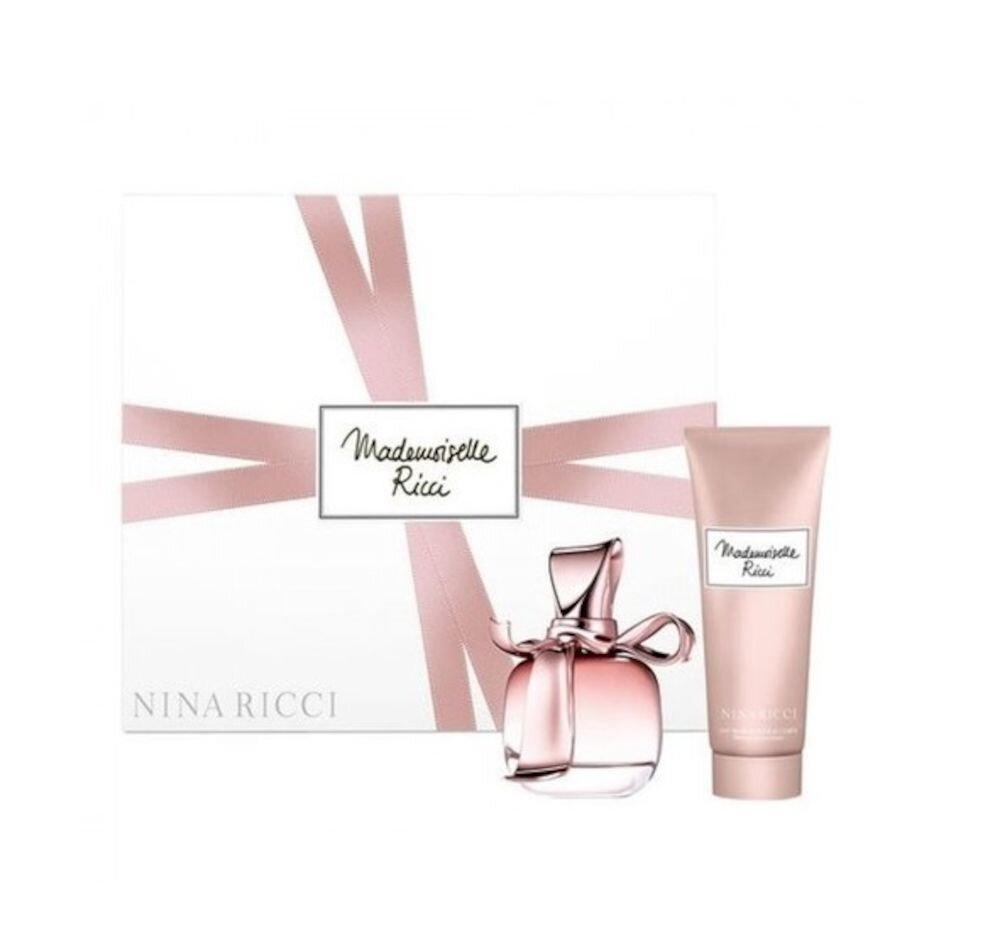 Set cadou Mademoiselle Ricci (Apa de Parfum 80 ml + Lotiune de corp 200 ml), Pentru Femei