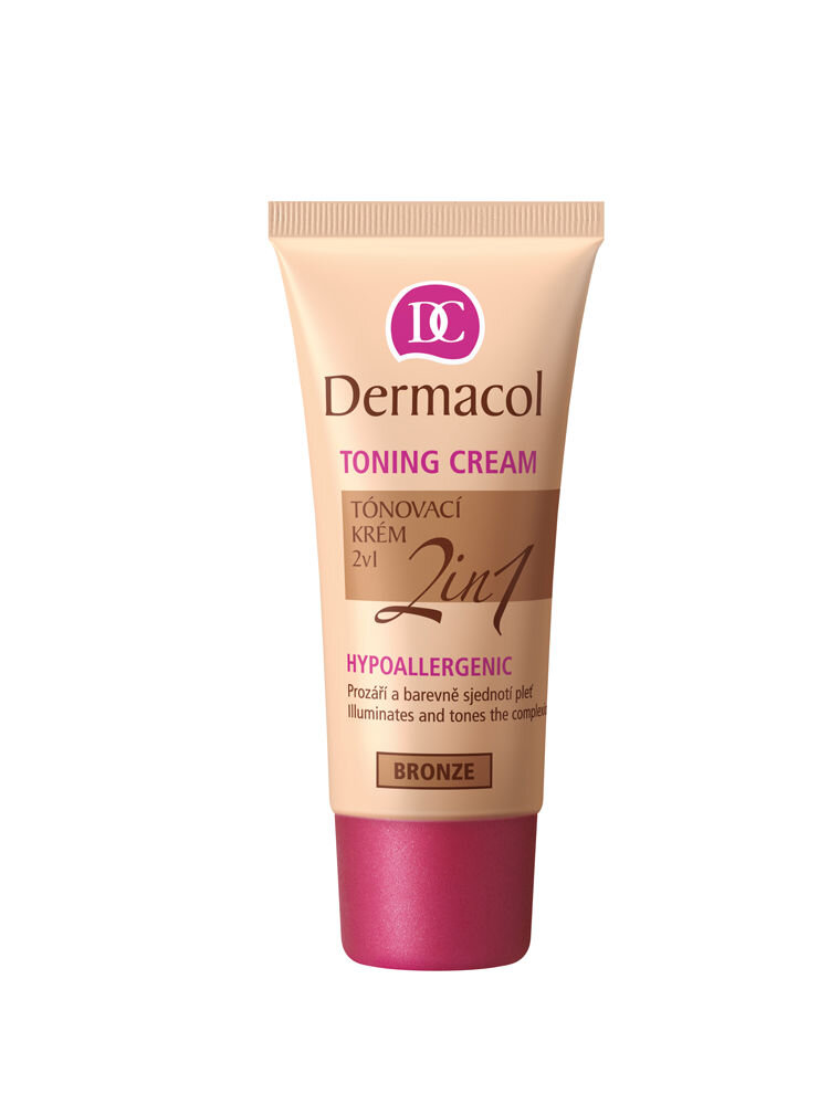 Crema coloranta BB 2-in-1, Bronze, 30 ml