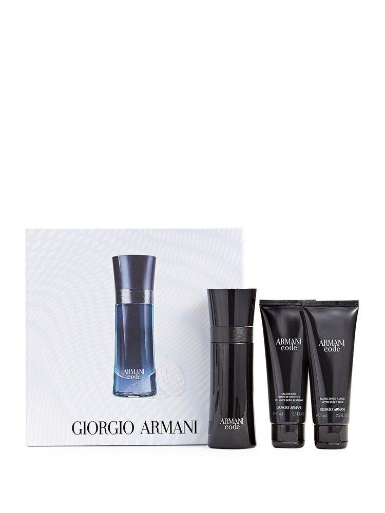 Set Cadou Black Code (apa De Toaleta 50 Ml + Gel De Dus 75 Ml + Aftershave 75 Ml), Pentru Barbati