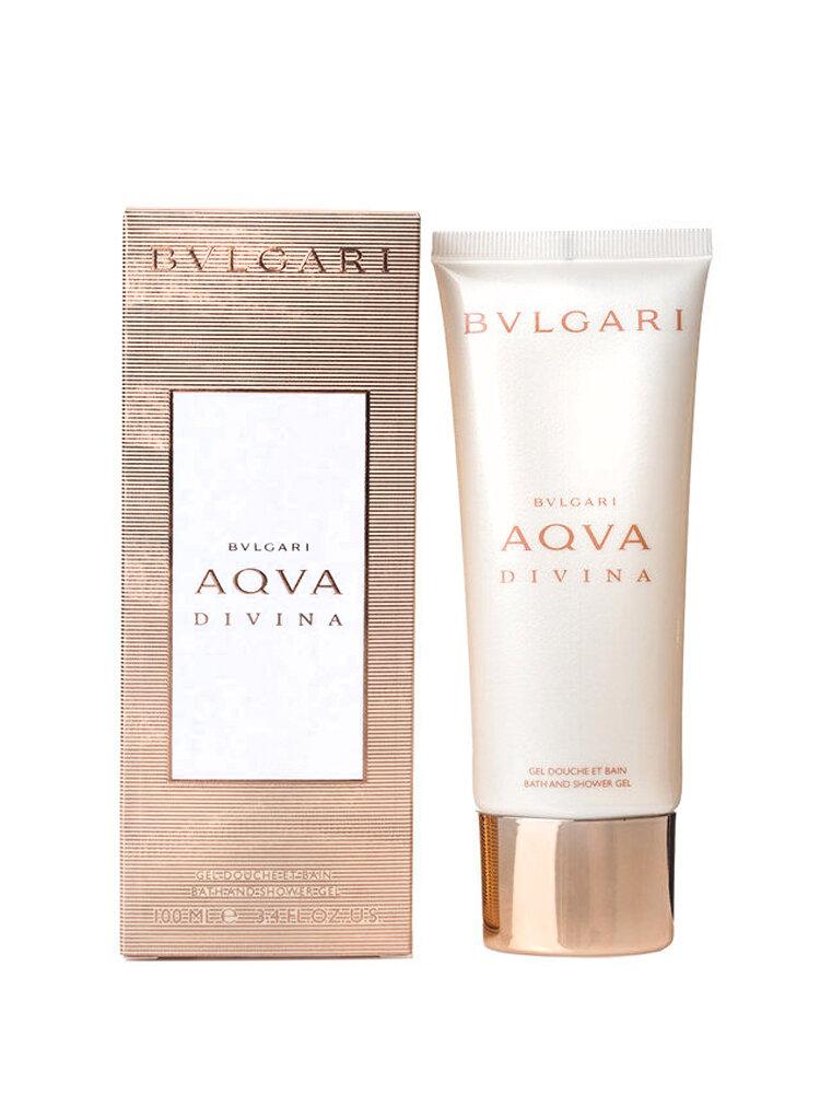 Gel de dus Bvlgari Aqva Divina, 100 ml, Pentru Femei