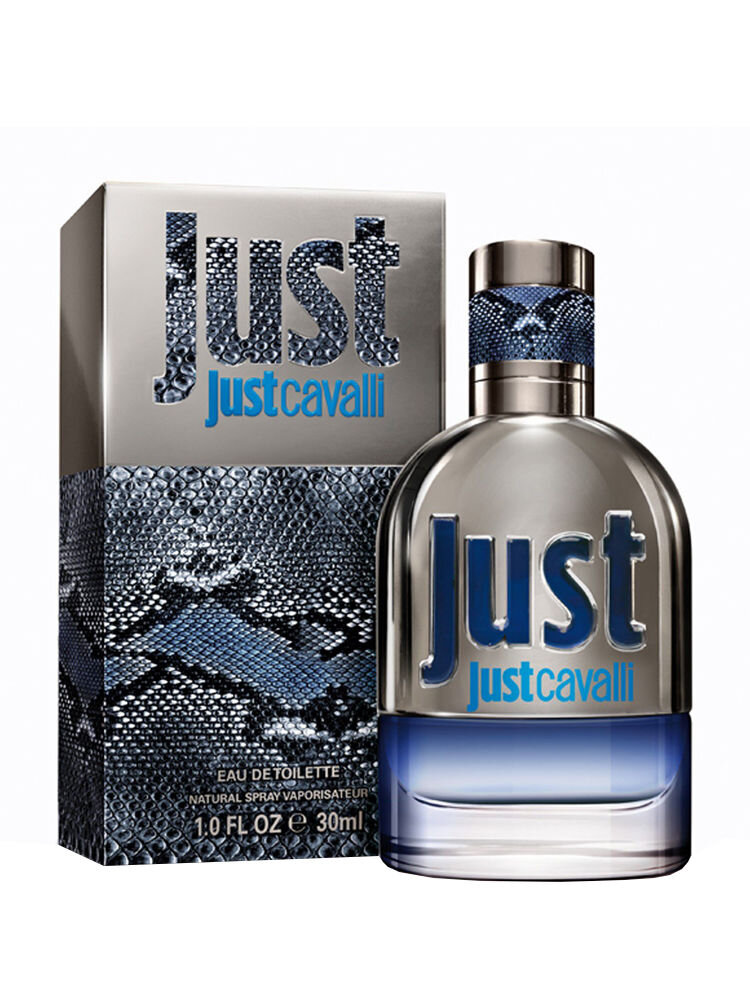 Apa de toaleta Roberto Cavalli Just Cavalli for Him, 30 ml, Pentru Barbati