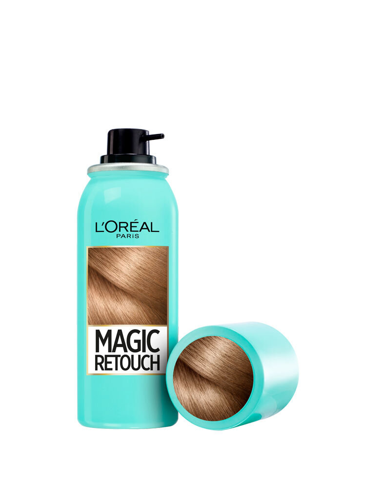 Spray instant Magic Retouch pentru camuflarea radacinilor crescute intre colorari 4 Blond, 75 ml