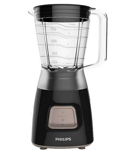 Imagine indisponibila pentru Blender Philips Daily Collection HR2052/90, 350 W, 1.25 l, Pulse, Negru
