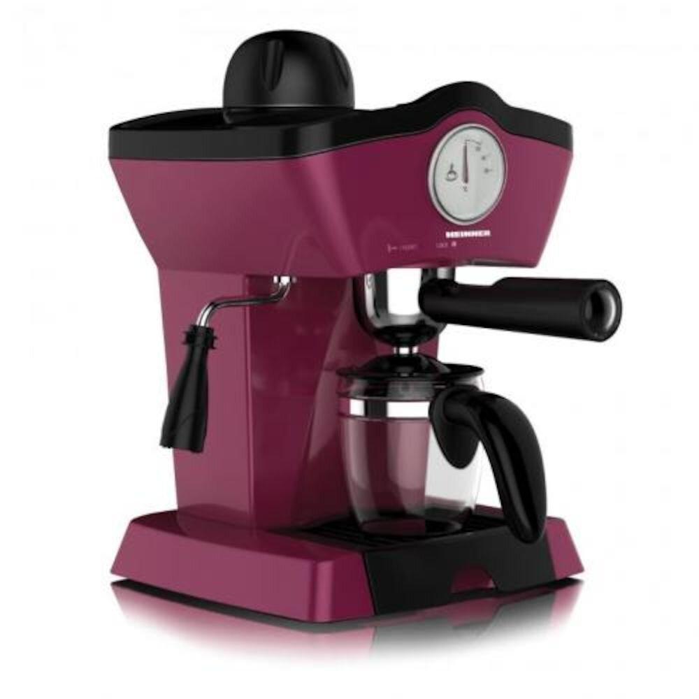 Espressor Automat Heinner Charm Hem-200bg , 800w, 250ml, 3.5 Bar,visiniu