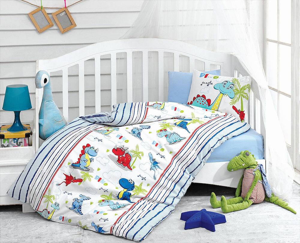 Lenjerie de pat pentru copii Cotton Box material: 100% bumbac 129CTN2092 120 x 150 cm