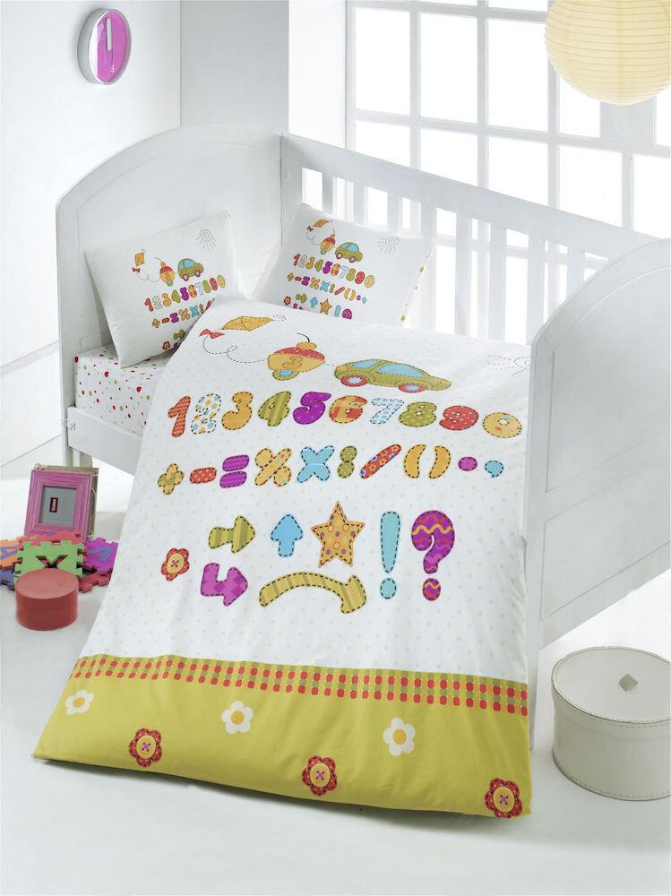 Lenjerie de pat pentru copii Victoria material: 100% bumbac 121VCT2001 100 x 150 cm