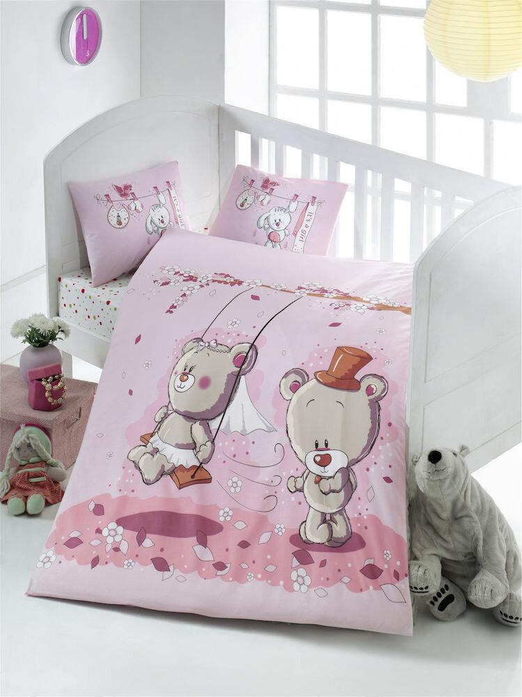 Lenjerie de pat pentru copii Victoria material: 100% bumbac 121VCT2008 100 x 150 cm
