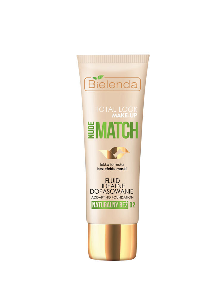 Fond de ten Total Look Ideal Nude Match, Natural Beige 02, 30 g