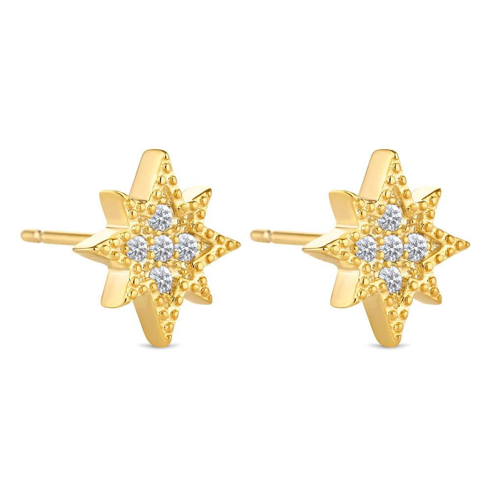 Cercei Diamond Style Cosmosearrgold