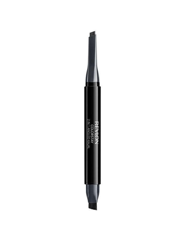 Creion de ochi Kajal 2 in 1, in unghi, 104 Graphite, 0.28 g
