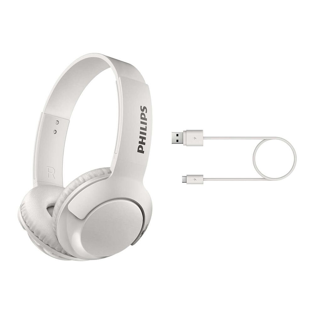Imagine indisponibila pentru Casti on-ear cu microfon Philips SHL3075WT/00, Bass+, Jack 3.5 mm, Alb