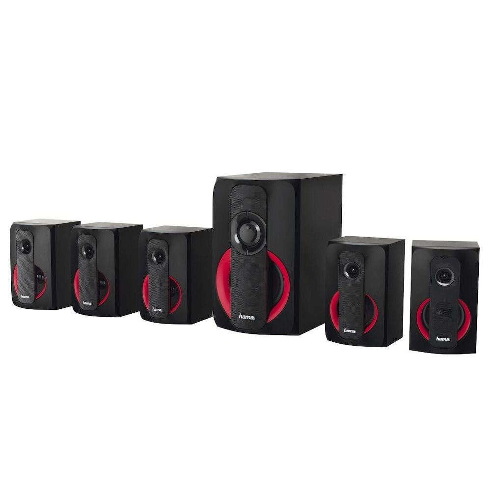 Sistem Audio 5.1 Hama, 173145, 120 W, Multicolor