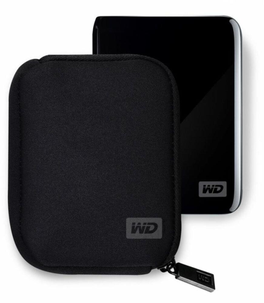 "Imagine indisponibila pentru Husa Hard Disk-uri Extern My Passport, WDBABK0000NBK , WD 2.5"", Negru"