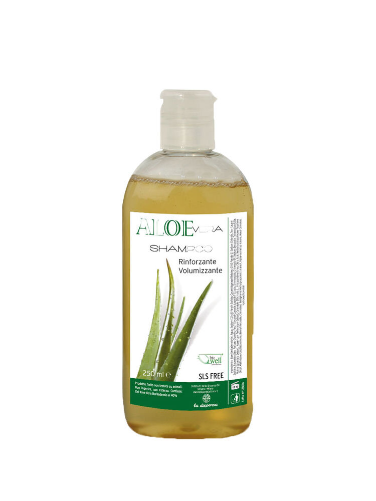 Sampon hidratant si volumizant cu gel de Aloe Vera, 250 ml