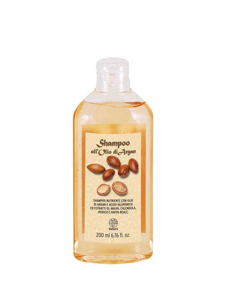 Sampon BIO cu ulei de argan, acid hialuronic si extract de galbenele, 200 ml