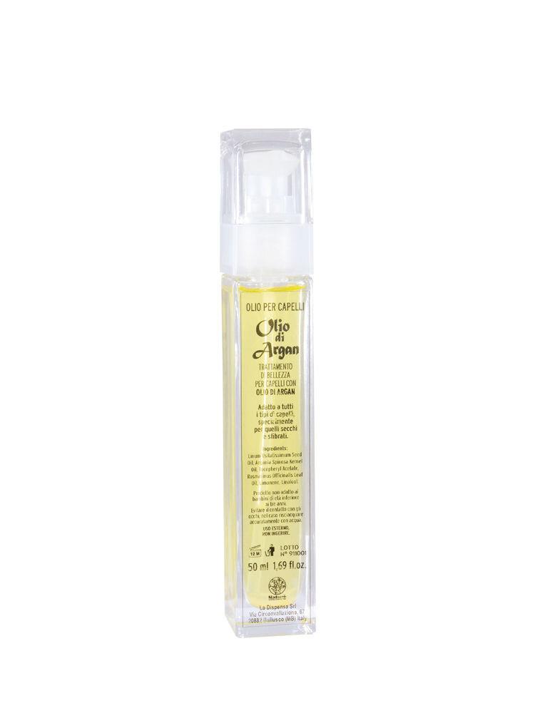 Ulei de par BIO din ulei de argan si seminte de in, 50 ml