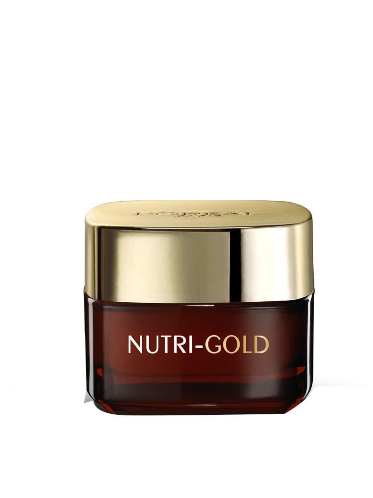 Crema hidratanta pentru fata, de Noapte, L'Oreal Paris Nutrigold,50ml
