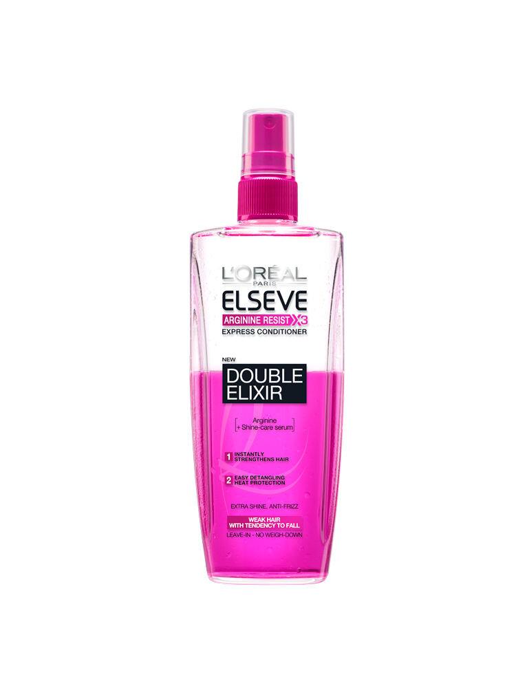 Spray bi-fazic Arginine Resist Double Elixir pentru par fragil, 200 ml