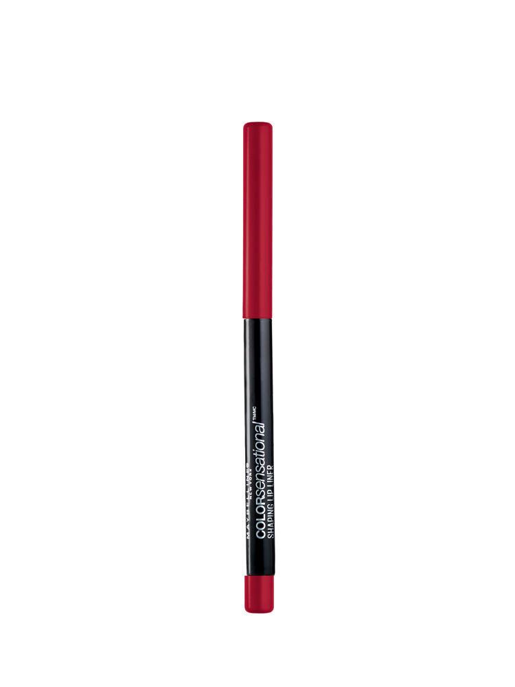 Creion de buze Maybelline New York Color Sensational Shaping Lip Liner 90 Brick Red, 6 g