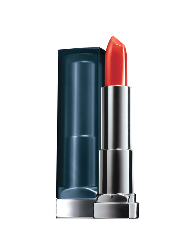 Ruj mat Maybelline New York Color Sensational Creamy Mattes 965 Siren in Scarlet, 5.7 g