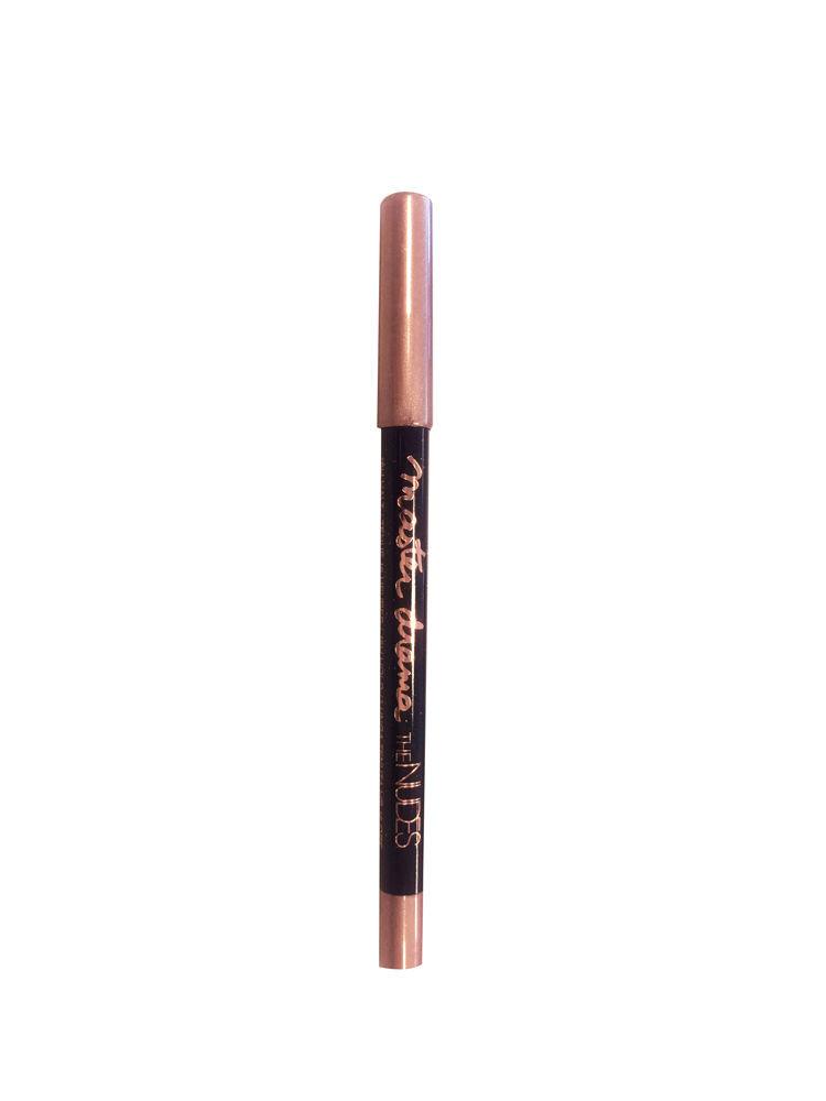 Creion dermatograf Maybelline New York Master Drama The Nudes - 22 Brownie Glitz, 1.5 g