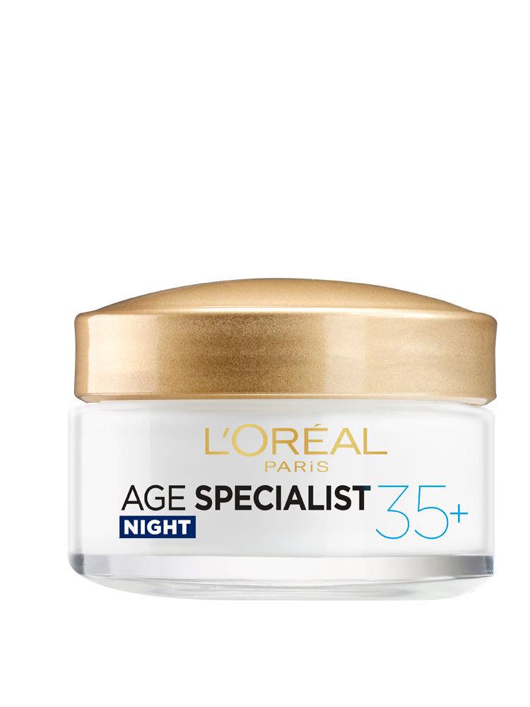 Crema antirid pentru fata L'Oreal Paris Age Specialist 35+ de noapte, 50 ml
