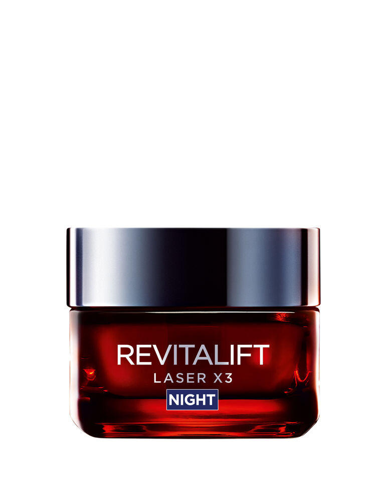 Crema antirid pentru fata L'Oreal Paris Revitalift Laser X3 de noapte, 50 ml