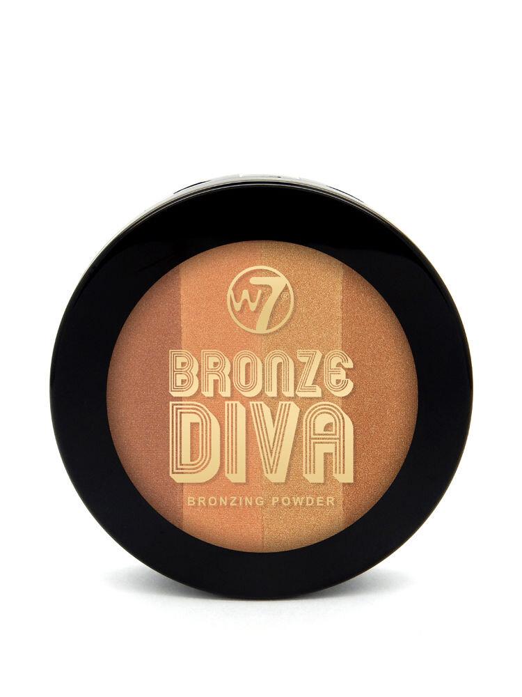 Pudra bronzanta Divas Bronzing, Sun Baby, 10 g