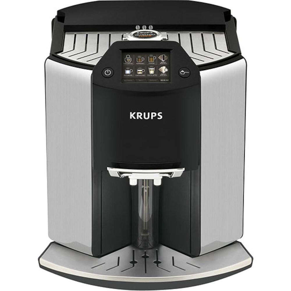Espressor Automat Krups Barista Ea907d31, 1460 W, Negru/argintiu