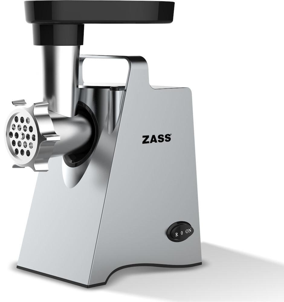 Masina De Tocat Carne Zass Zmg 09 Silver, Putere 800w,