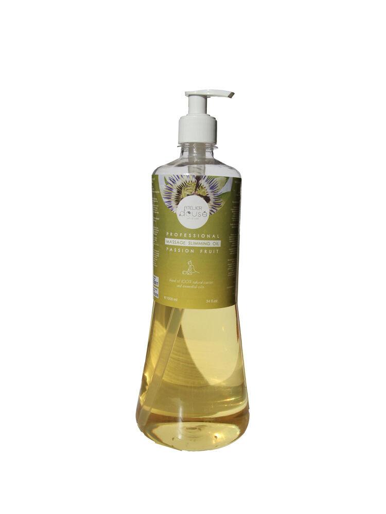 Ulei profesional Slimming pentru masaj ,Fructul Pasiunii, natural, 1000 ml