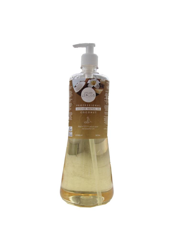 Ulei profesional Neutral pentru masaj ,Cocos , natural, 1000 ml