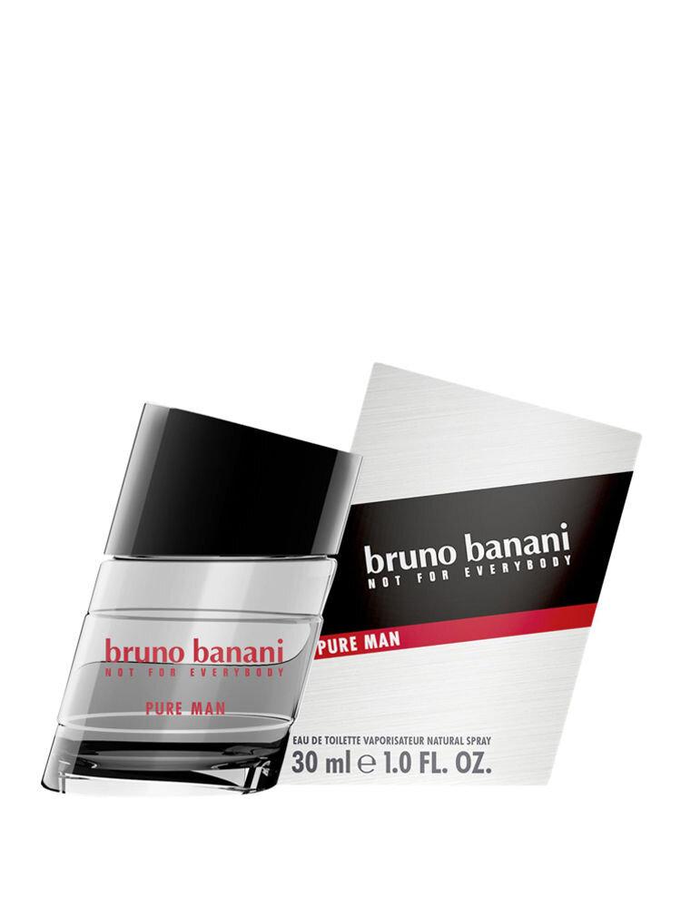 Apa de toaleta Bruno Banani Pure Man, 30 ml, Pentru Barbati