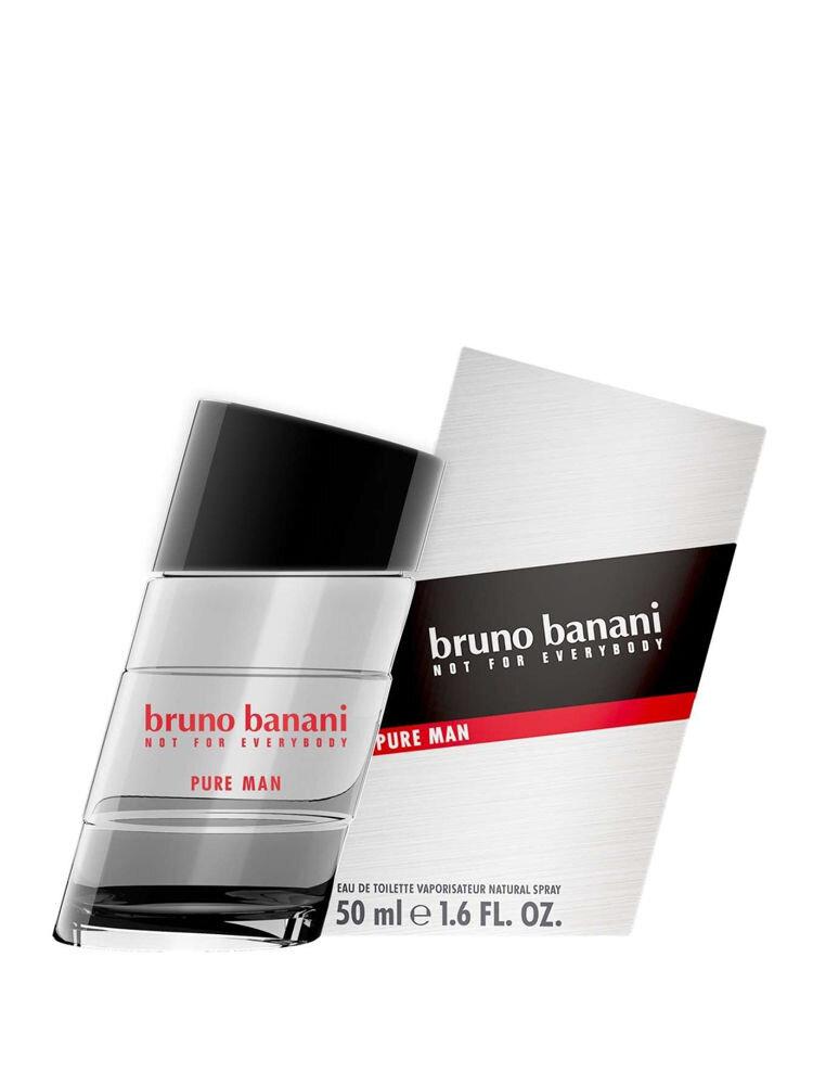 Apa de toaleta Bruno Banani Pure Man, 50 ml, Pentru Barbati