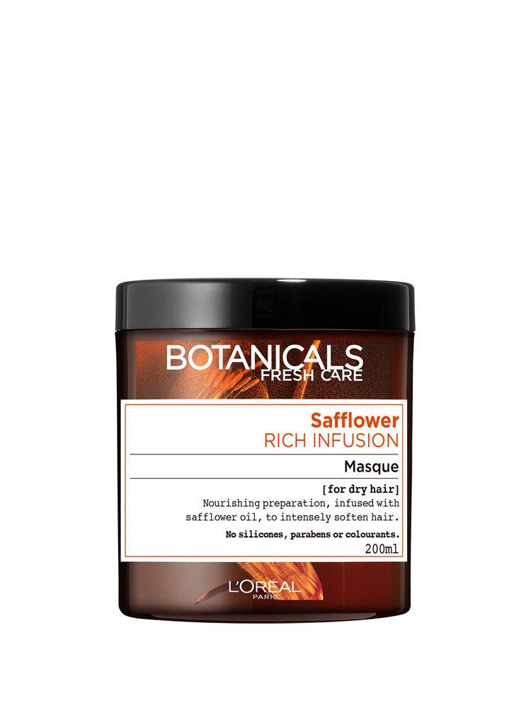 Masca nutritie intensa Botanicals Fresh Care cu ulei de sofranel pentru par uscat, 200 ml